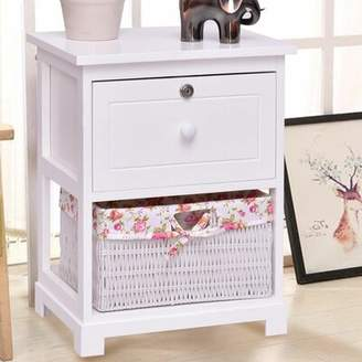 Highland Dunes Chattooga 1 Drawer Nightstand Highland Dunes