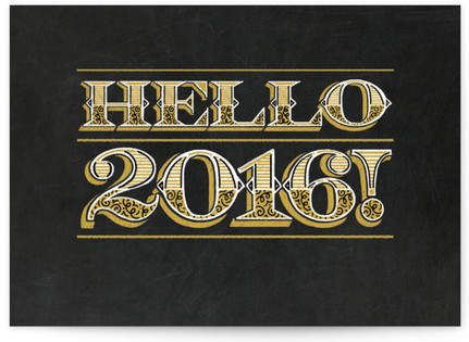 Hello 2017! Self-Launch Cards