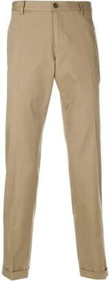 Dolce & Gabbana turn-up chinos