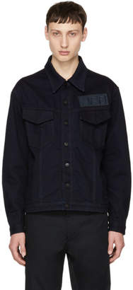 Fendi Blue Denim Forever Patch Jacket