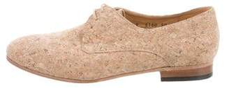 Dieppa Restrepo Cork Lace-Up Oxfords