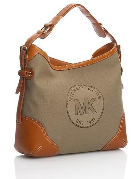 MICHAEL Michael Kors ID Twill Shoulder Bag