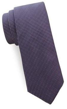 Saks Fifth Avenue Square Silk Tie