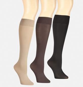 Avenue Flat Knit Trouser Socks 3-Pack