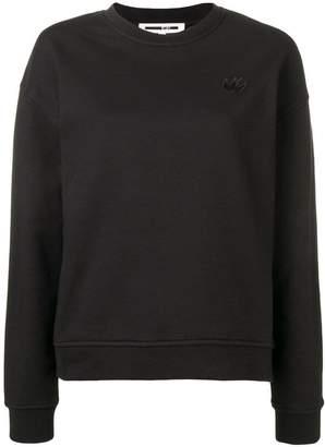 McQ swallow patch sweatshirt