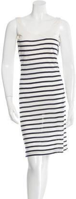 Jean Paul Gaultier Sleeveless Stripe Dress $65 thestylecure.com