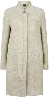 SET Wool Cocoon Coat
