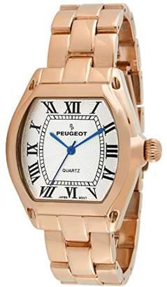 Peugeot Women's Quartz Brass Casual Watch