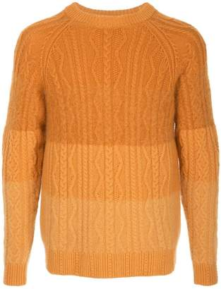 Coohem animal gradation sweater
