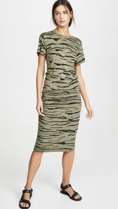 Monrow Tier Crew Dress