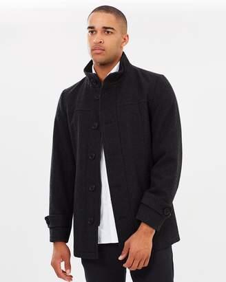 TAROCASH Knightsbridge Wool Blend Coat