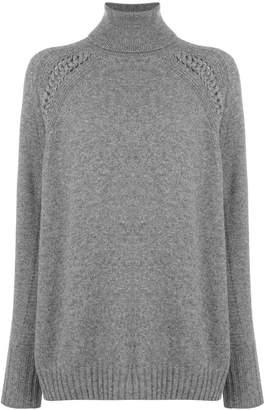 Belstaff turtleneck long sweater