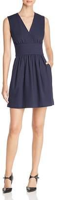 Paule Ka Piqué A-Line Dress