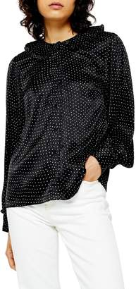 Topshop Peter Pan Collar Shirt