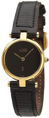 Cartier Must Vendôme silver gilt watch