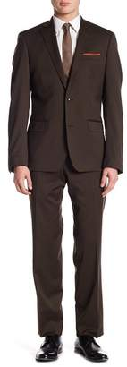 John W. Nordstrom R) Classic Fit Solid Wool Suit