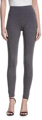 Joan Vass Plus Size Full-Length Leggings
