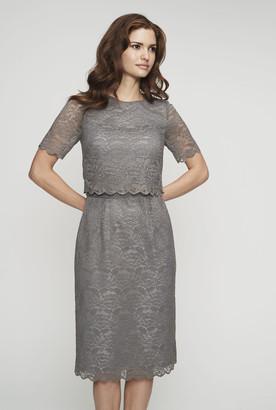 Long Tall Sally Lace Pop Over Shift Dress 03fd09a66