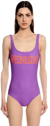 Alberta Ferretti Wednesday One Piece Swimsuit
