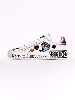 Dolce & Gabbana Sneakers Portofino Patch