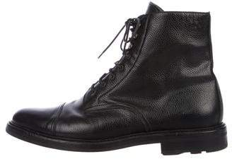 Ralph Lauren Black Label Macomb Ankle Boots