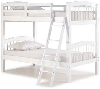 LOFT Bolton Furniture Spindle Twin Over Twin Bunk Bed