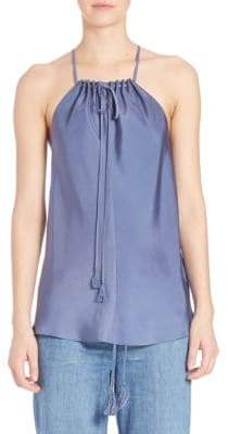 Elle Sasson Clair Silk Top