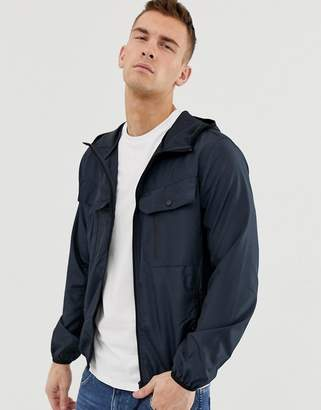 Brave Soul Zip Through Windbreaker Jacket