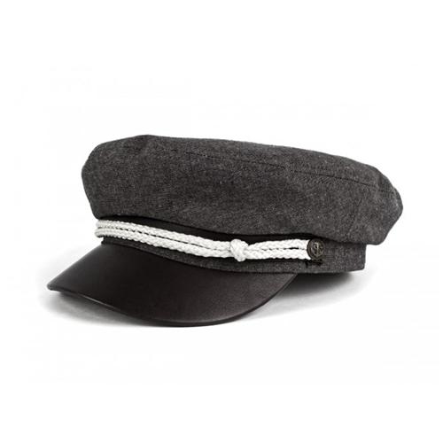 Brixton Men's Fiddler Hat - Black Chambray