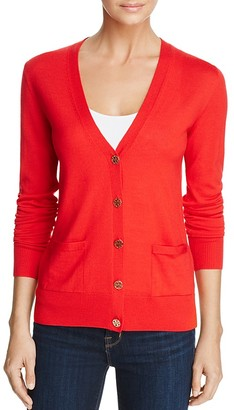 Tory Burch Madeline Merino Wool Cardigan $225 thestylecure.com