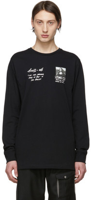 Off-White Off White Black Monalisa Long Sleeve T-Shirt