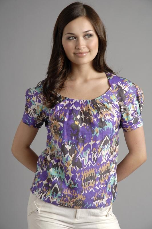 Rachel Comey Sawtooth Pleat Neck Shirt