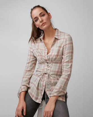 Express Flannel Corset Shirt