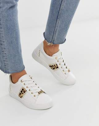 Carvela leopard sneaker
