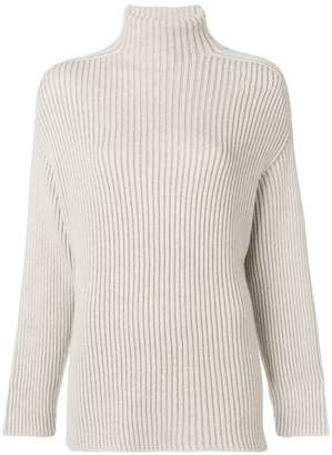 Agnona ribbed roll-neck sweater