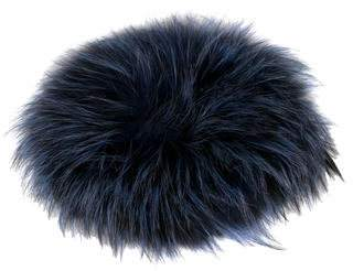 Adrienne Landau Fox Fur Knit Hat
