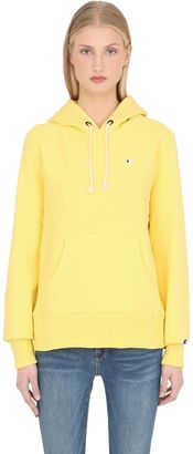 Hooded Cotton Terrycloth Sweatshirt $120 thestylecure.com