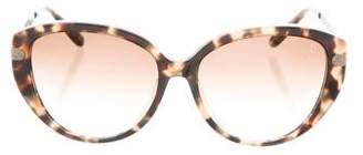Bottega Veneta Cat-Eye Tortoiseshell Sunglasses