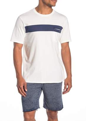 Threads 4 Thought Laramie Bold Stripe Short Sleeve Crew T-Shirt