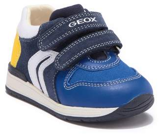 Geox Rishon Leather Sneaker (Baby & Toddler)