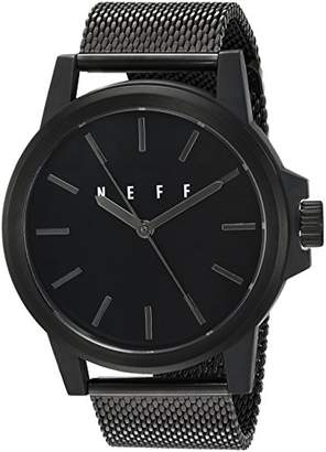 Neff Automatic Metal and Alloy Sport Watch
