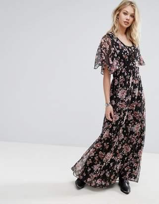 Mango Floral Print Maxi Dress $106 thestylecure.com