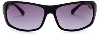GUESS 61mm Rectangular Sunglasses