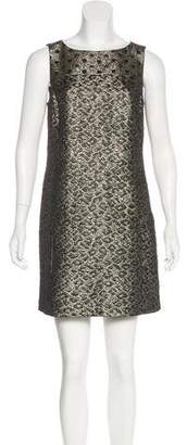 Tibi Brocade Shift Dress