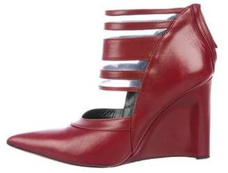 Derek Lam Pointed-Toe Wedge Booties