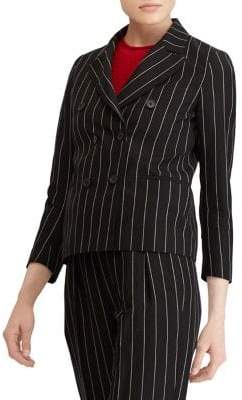 Polo Ralph Lauren Pinstriped Double-Breasted Blazer