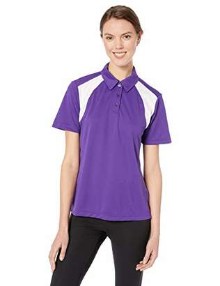 Ashe Xtream Women's Eperformance Colorblock Textured Polo,M