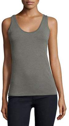 Neiman Marcus Majestic Paris for Sleeveless Scoop-Neck Tank