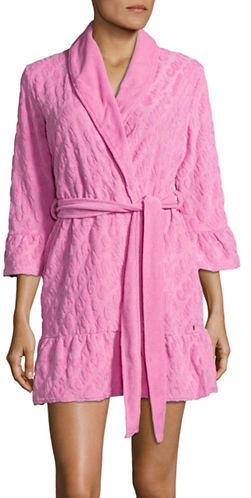 Juicy Couture Juicy Couture Textured Ruffled Robe