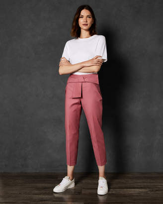 Ted Baker BETHA Bow waist trousers